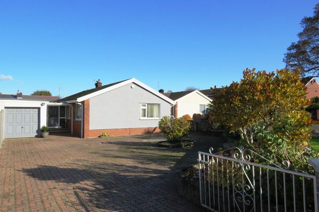 Thumbnail Detached bungalow for sale in Conway Close, Dinas Powys