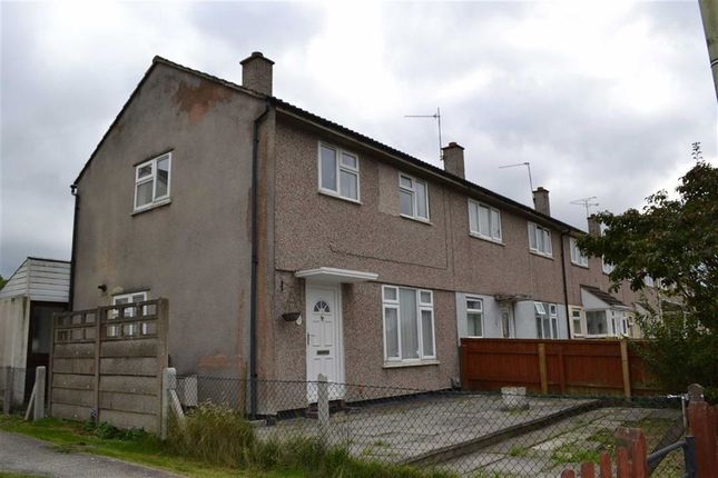 Thumbnail End terrace house to rent in Queens Drive, Swindon