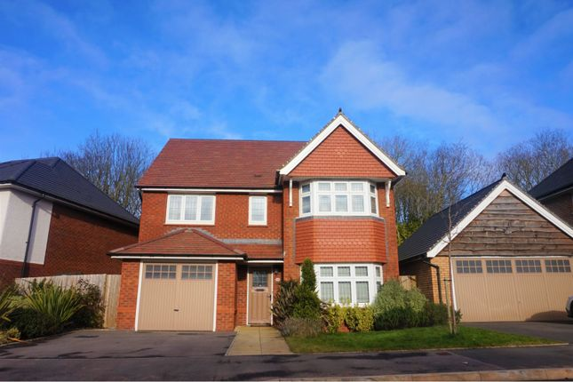 Thumbnail Detached house for sale in Goldsland Walk, Cardiff