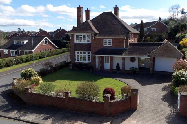 Thumbnail Detached house for sale in Leyfield Road, Trentham, Stoke-On-Trent