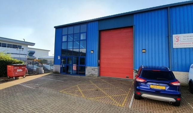 Thumbnail Industrial to let in Unit 8, Trinity Court, Brunel Road, Totton