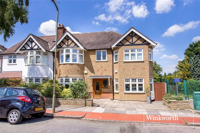 Thumbnail Semi-detached house for sale in Lyndhurst Gardens, Finchley, London