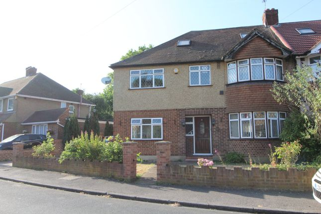 Thumbnail Semi-detached house for sale in Stanhope Heath, Stanwell, Staines-Upon-Thames