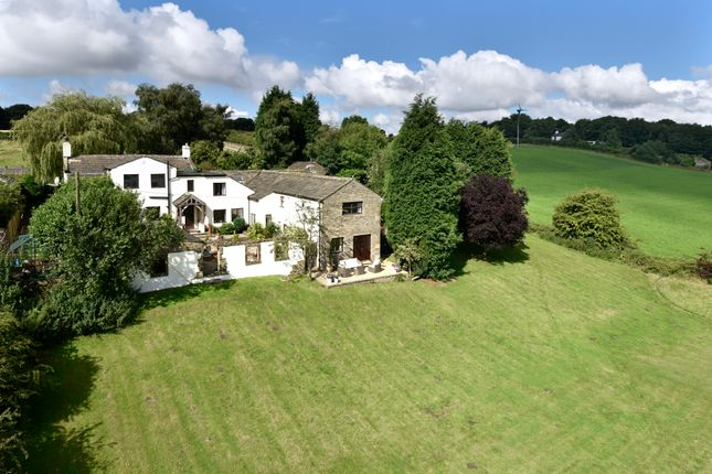 Thumbnail Farmhouse for sale in Liley Lane, Grange Moor, Wakefield