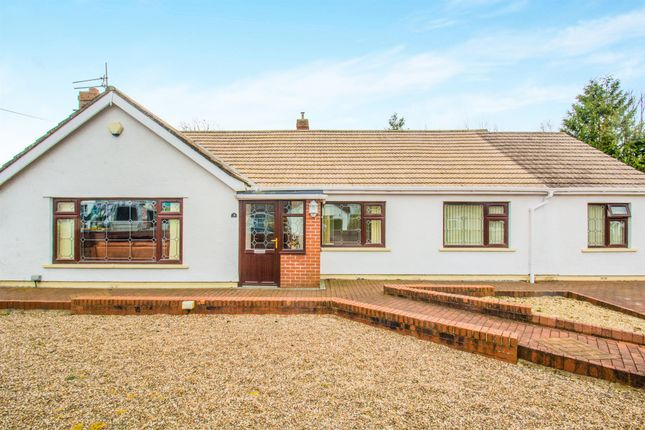 Thumbnail Detached bungalow for sale in Church Close, Peterstone Wentlooge, Cardiff