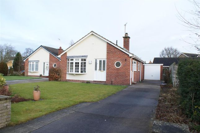 Thumbnail Detached bungalow for sale in Stablers Walk, Earswick, York