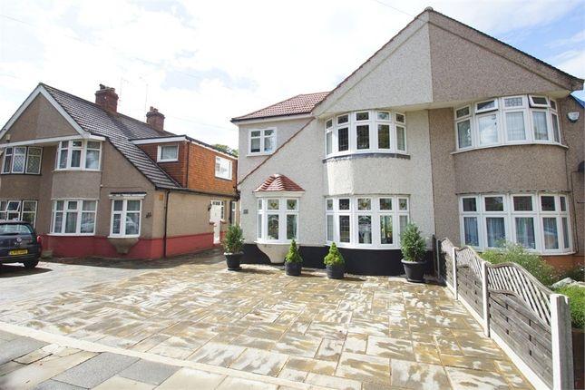 Thumbnail Semi-detached house for sale in Marlborough Park Avenue, Sidcup, Kent