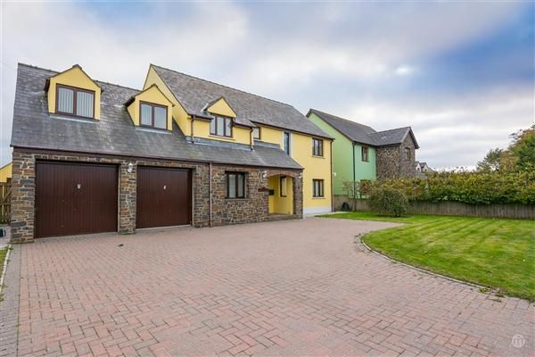 Thumbnail Detached house for sale in Maplestow, Hayscastle Cross, Haverfordwest