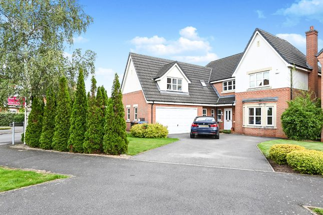 Thumbnail Detached house for sale in Coppice End Road, Allestree, Derby
