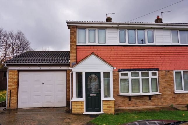Thumbnail Semi-detached house to rent in Towton Drive, Whitwood, Castleford