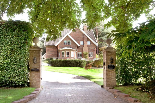Thumbnail Detached house for sale in Cavendish Road, Weybridge, Surrey