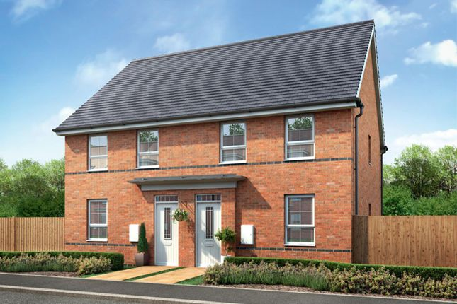 "Thumbnail Semi-detached house for sale in ""Finchley"" at Melton Road, Edwalton, Nottingham"