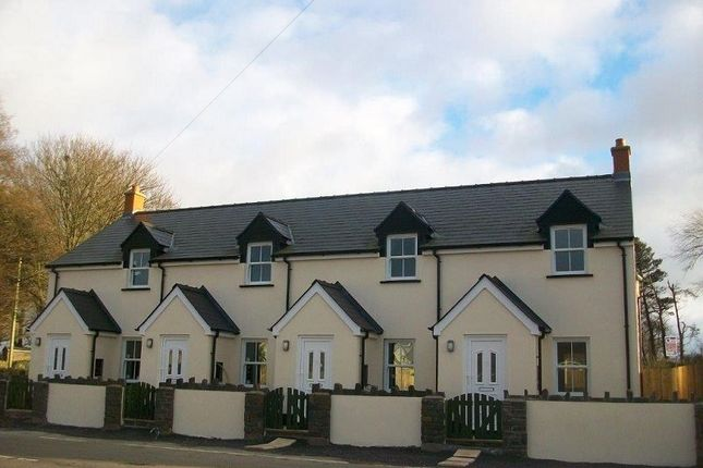 Thumbnail End terrace house for sale in Hays Lane, Sageston, Tenby, Pembrokeshire.