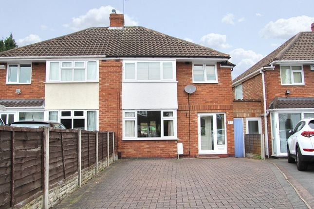Thumbnail Semi-detached house for sale in Mountjoy Crescent, Solihull