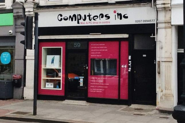 Thumbnail Retail premises for sale in 59 East Hill, London