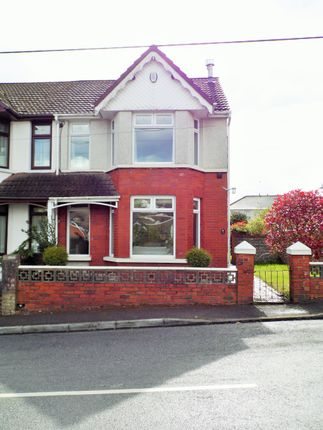 Thumbnail Semi-detached house for sale in Badminton Grove, Ebbw Vale