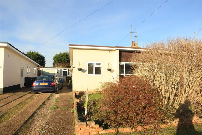 Thumbnail Semi-detached bungalow for sale in Mountney Drive, Pevensey Bay, Pevensey