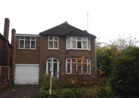 Thumbnail Detached house to rent in Holyhead Road, Coventry