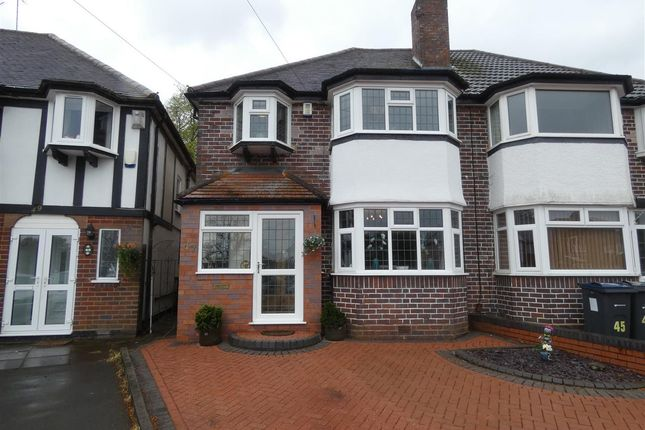Thumbnail Semi-detached house for sale in Vibart Road, Yardley, Birmingham