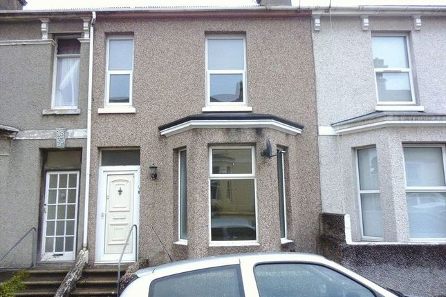 Thumbnail Terraced house to rent in Maida Vale Terrace, Mutley, Plymouth