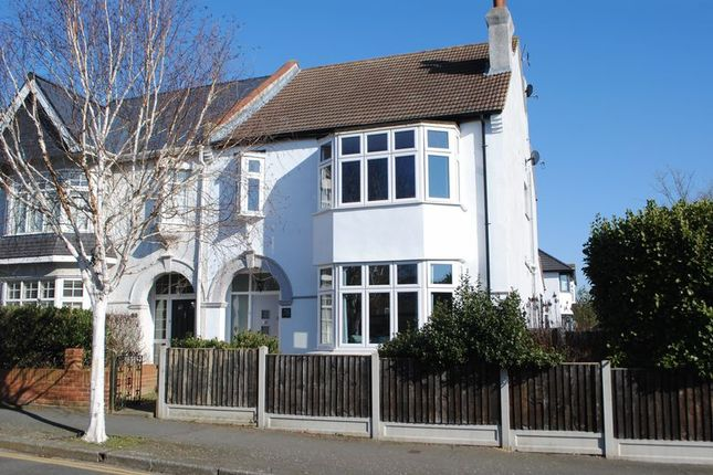 Thumbnail Semi-detached house for sale in Salisbury Road, Leigh-On-Sea