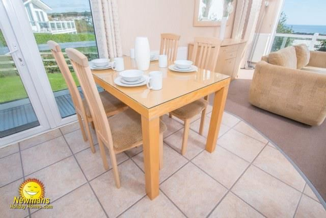 Dining Room of The Terraces, Sandy Bay, Exmouth EX8