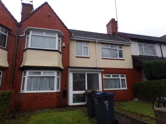 Thumbnail Terraced house for sale in Wheelwright Road, Birmingham, West Midlands