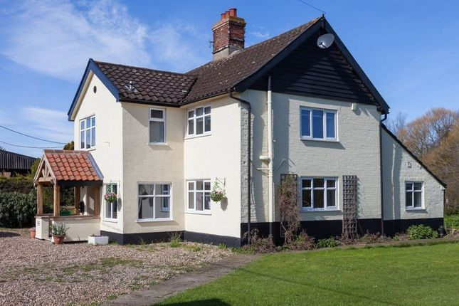 Thumbnail Detached house for sale in Low Tharston, Tharston, Norwich