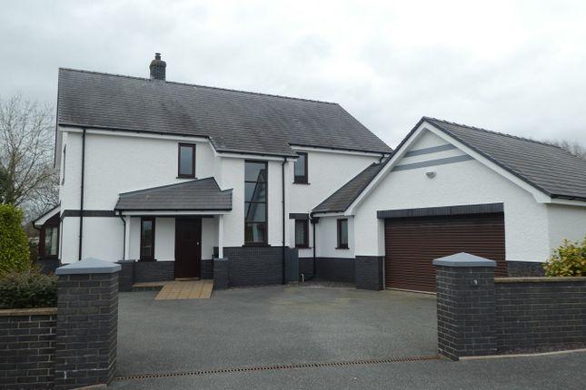 Thumbnail Detached house for sale in Parc Yr Efail, Cross Inn, Nr New Quay