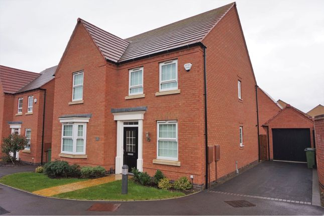 Thumbnail Detached house for sale in Forest House Lane, Leicester