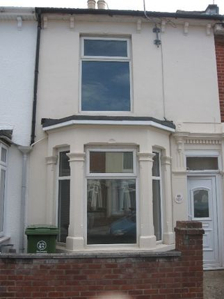 Thumbnail Terraced house to rent in Byron Road, Portsmouth