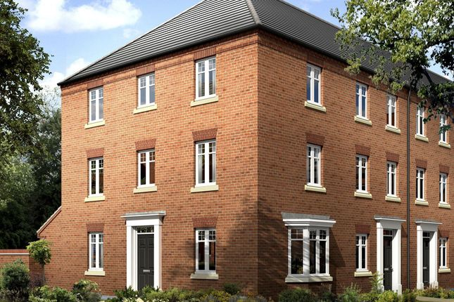 "Thumbnail Semi-detached house for sale in ""Drayton"" at Mount Street, Barrowby Road, Grantham"