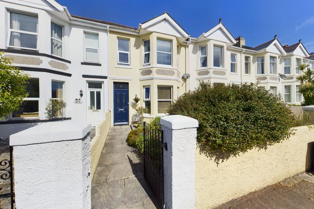 Thumbnail Terraced house for sale in Cary Park Road, Babbacombe, Torquay