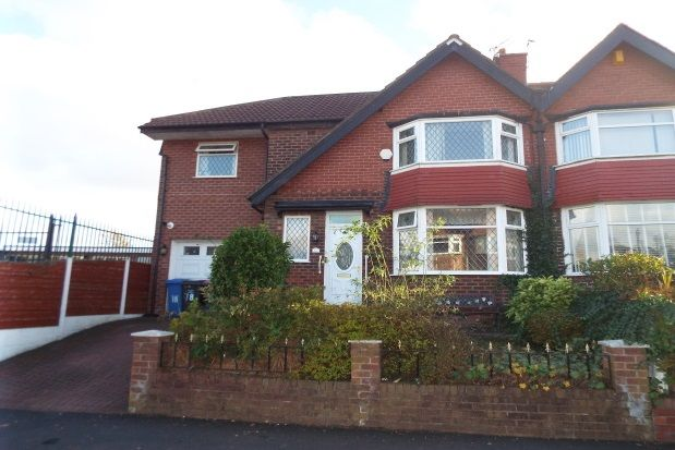 Thumbnail Property to rent in Parkgate Drive, Swinton, Manchester