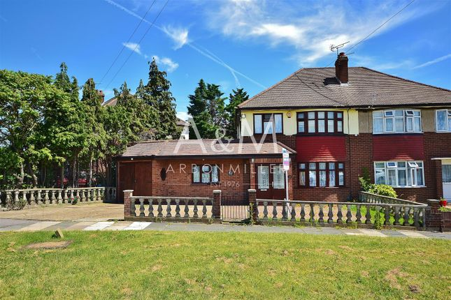 Thumbnail Semi-detached house for sale in Marston Road, Clayhall, Ilford