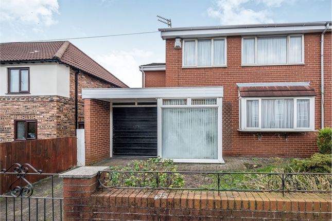 Thumbnail Semi-detached house for sale in Gourley Road, Wavertree, Liverpool