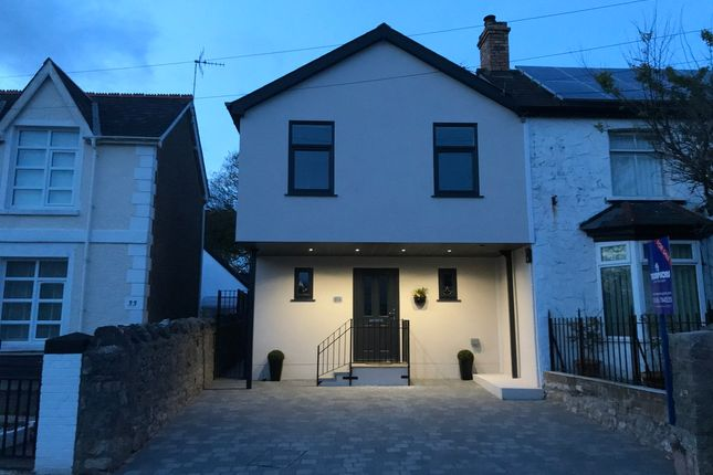 Thumbnail Link-detached house for sale in 31A Newton Nottage Road, Newton Village, Porthcawl