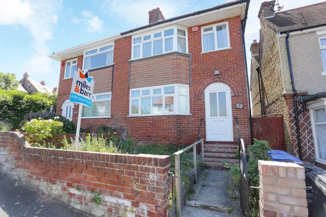 Thumbnail Semi-detached house for sale in Alfred Road, Margate
