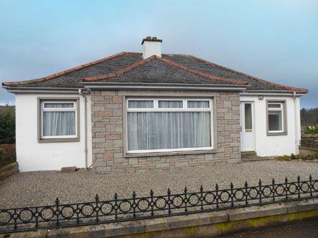 Thumbnail Detached bungalow for sale in Mary Avenue, Aberlour