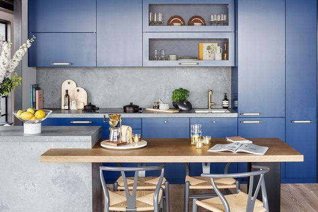 Typicla Kitchen of Orchard Place, London E14