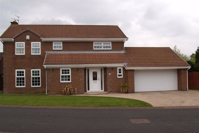 Thumbnail Detached house for sale in Heswall Road, Cramlington