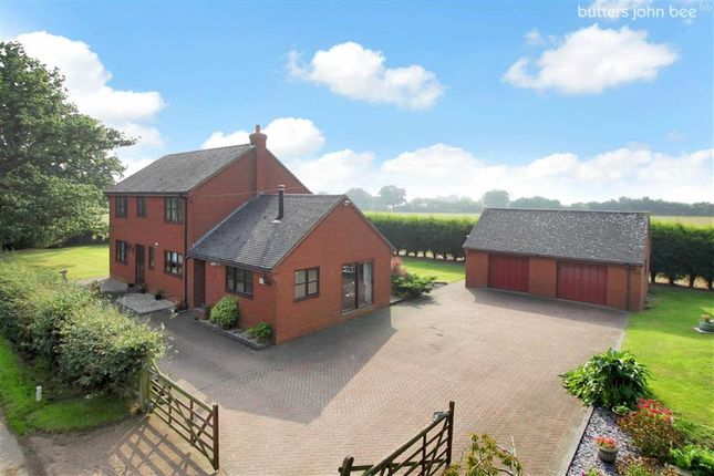 Thumbnail Detached house for sale in Pipe Lane, Blithbury Nr Rugeley, Staffordshire