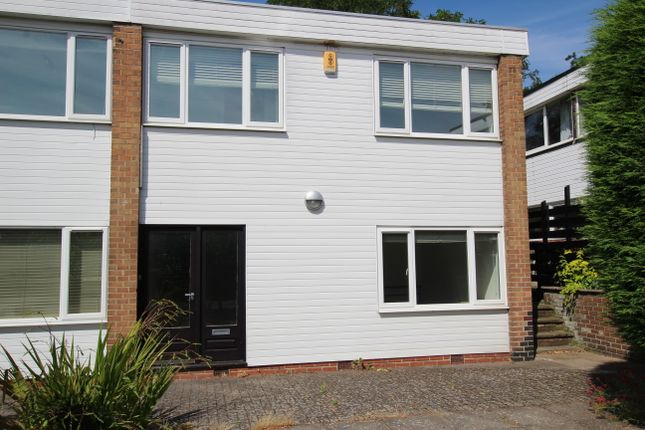 Thumbnail Terraced house to rent in Yeomans Court, The Park, Nottingham