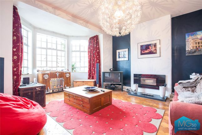 Thumbnail Maisonette to rent in Mount View Road, London
