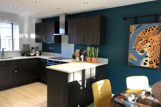 """Thumbnail Detached house for sale in """"The Clayton"""" at Haverhill Road, Little Wratting, Haverhill"""