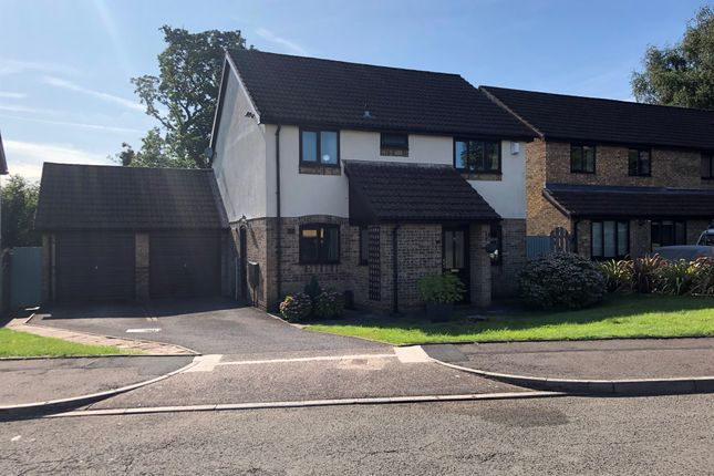 Thumbnail Detached house for sale in Pickwick Close, Thornhill, Cardiff