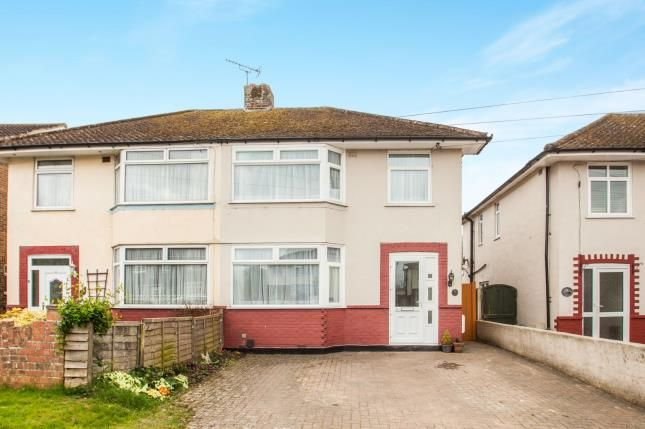 Thumbnail Semi-detached house for sale in Osborne Road, Willesborough, Ashford, Kent