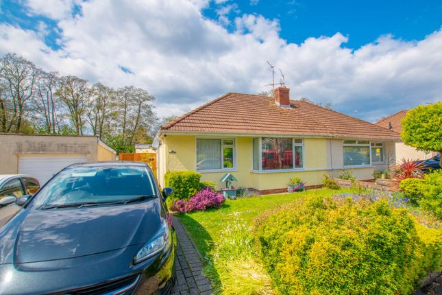 Thumbnail Semi-detached bungalow for sale in Heol Nant Castan, Cardiff