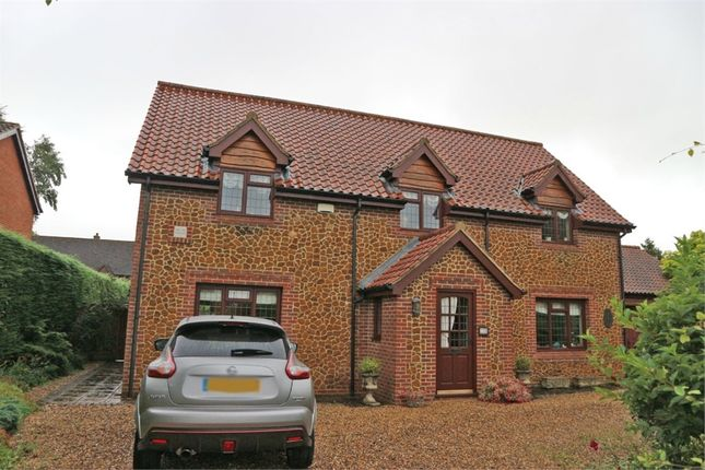 Thumbnail Detached house for sale in Chequers Close, Grimston, King's Lynn, Norfolk