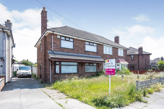 Thumbnail Semi-detached house for sale in Wakefield Drive, Moreton, Wirral